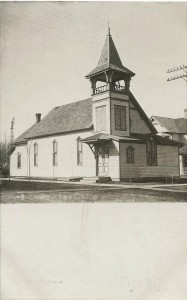 Our first church building, before 1915